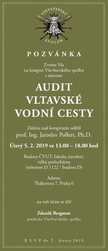Pozvánka na kongres Vševltavského spolku
